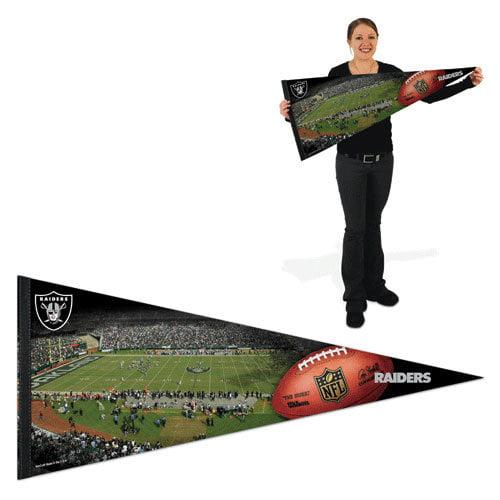 NFL - Oakland Raiders Pennant: 17x40 Stadium Premium Pennant
