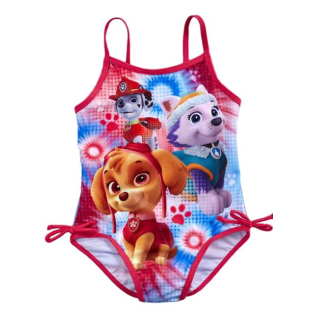 Nickelodeon Toddler Girls 1 Piece Pink Paw Patrol Swim Suit Swimming 2T