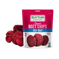 Rhythm Superfoods 2378826 0.6 oz Organic Beet Sea Salt Chips - Case of 8