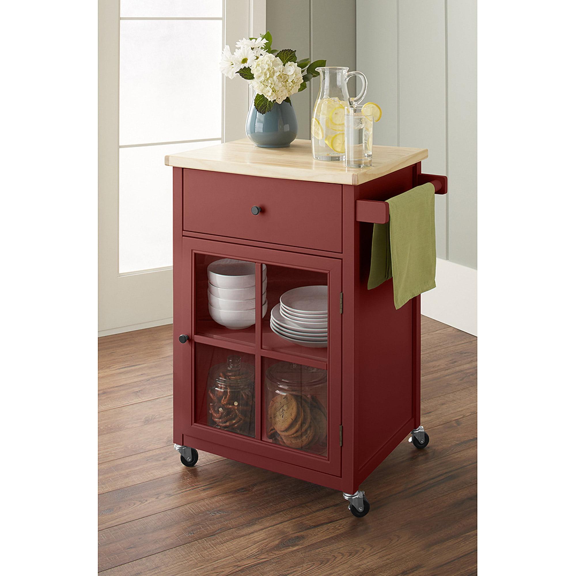 10 spring street kitchen cart multiple colors walmart com