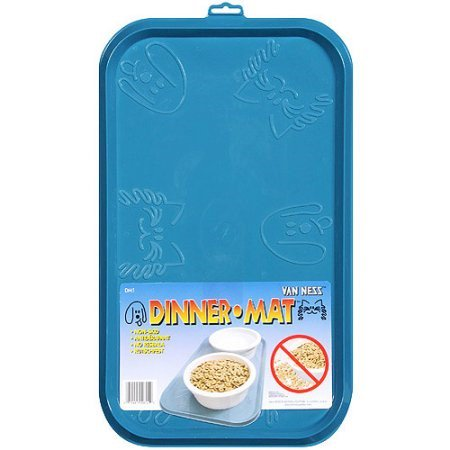 Dog Dinner Mat for Dog Bowls (Color may vary)