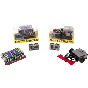 Hexbug Battlebots Remote Combat, Single, Assorted, Colors and Styles May Vary