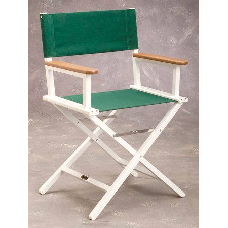 Aluminum Directors Chair in Forest Green