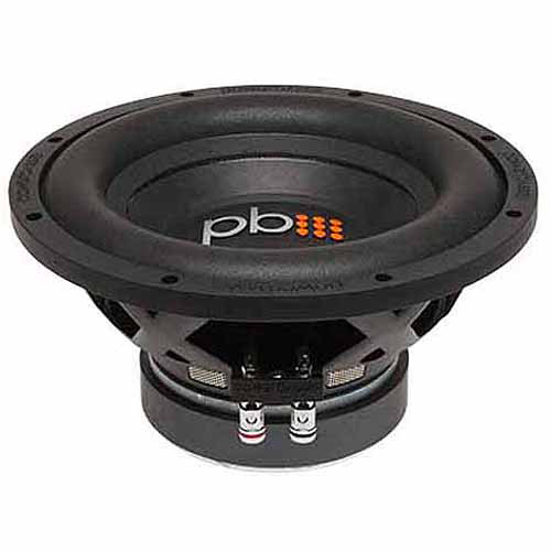 "PowerBass S-1004D 10"" Subwoofer, Black"
