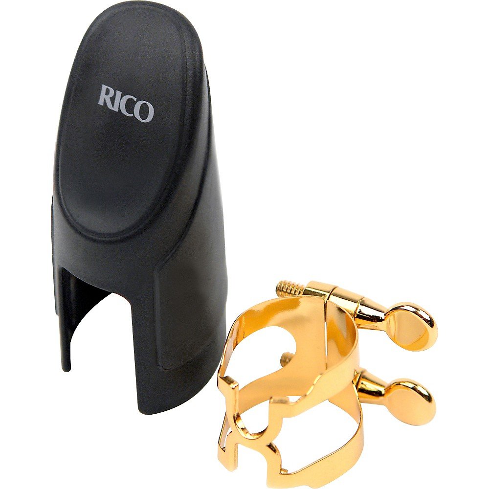Rico H-Ligature for Soprano Saxophone Gold
