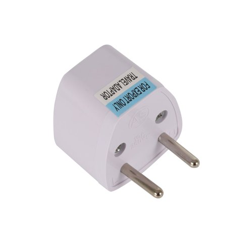 AU UK US to EU AC Power Plug Adapter Adaptor Converter Outlet Home Travel Wall - image 6 of 8