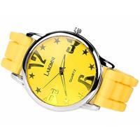 Laromni Negative Ion Silicone Sports Watch (Black)