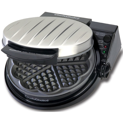Chef's Choice Five of Hearts Pro Waffle Maker with Rib Cover