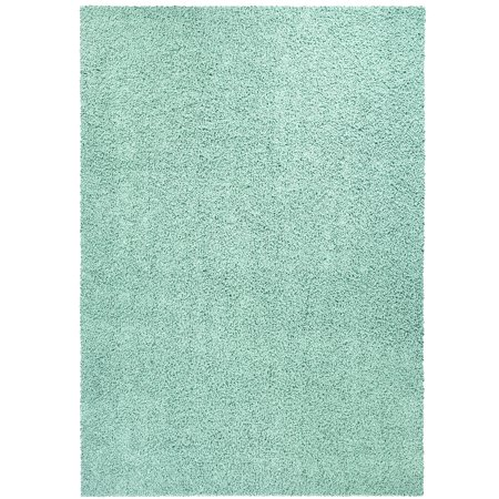 Mainstays Solid Olefin Shag Area Rug or Runner (White Bedroom Collection)