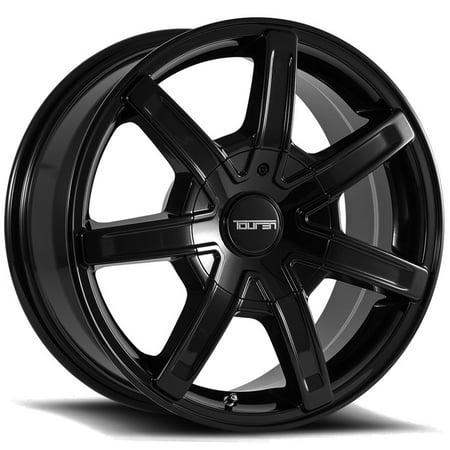 Touren TR65 18x8 5x112/5x120 +35mm Black Wheel Rim 18