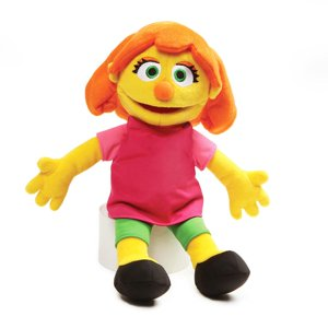Sesame Street Julia Plush Stuffed Toy, 14 Inches Toy, 14""