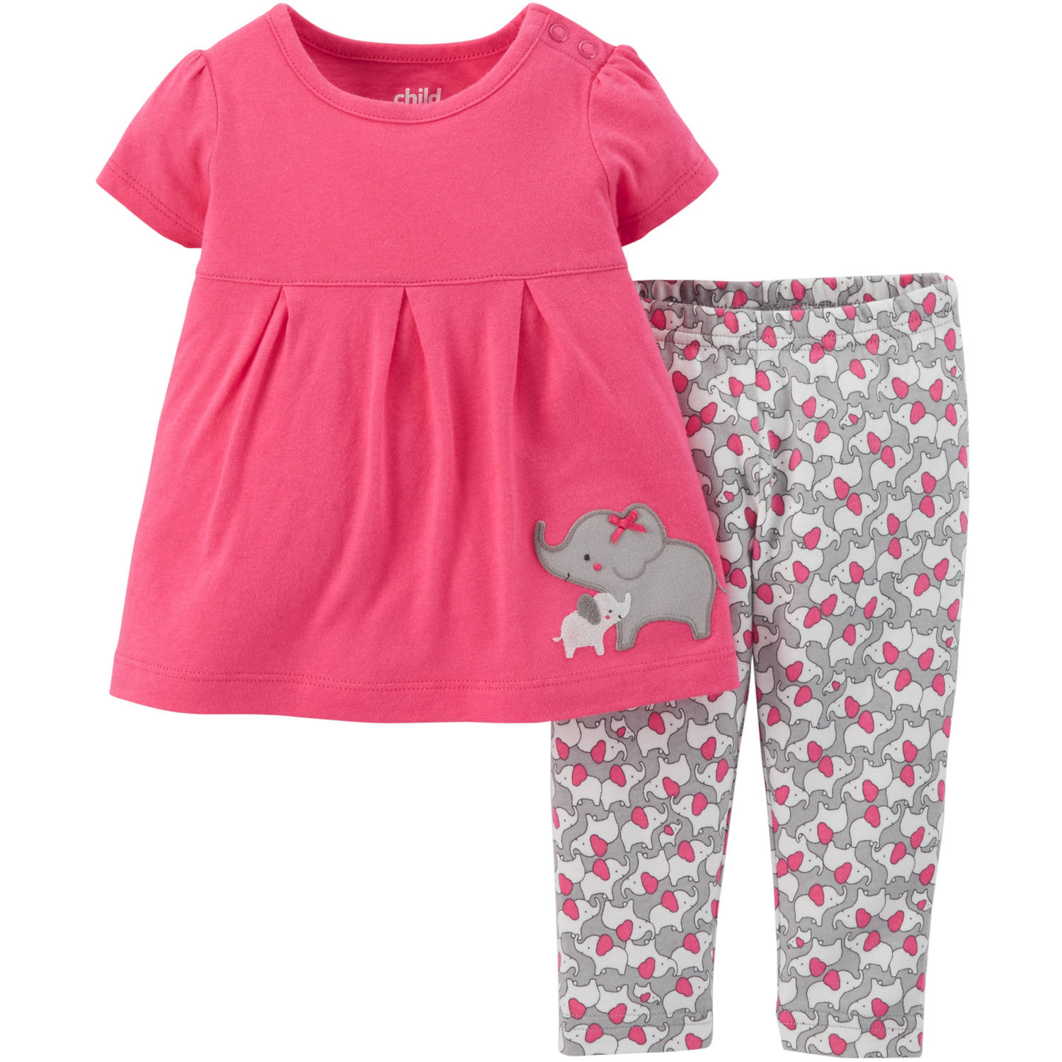 Child Mine Newborn Playwear G Ellie Walmart