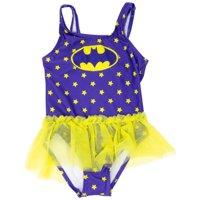 Batman Tutu Toddlers One Piece Swimsuit-Toddler 4T