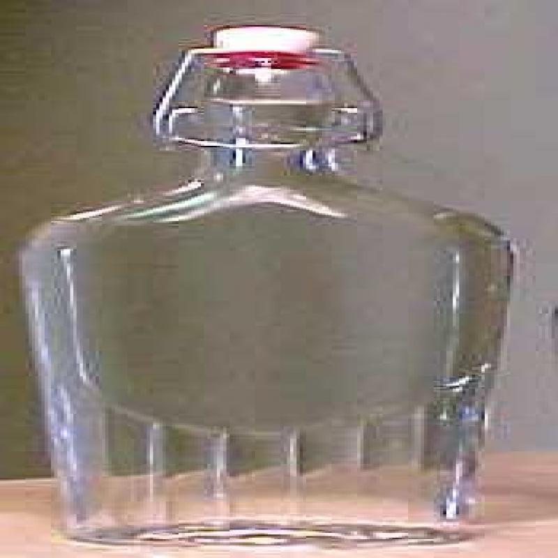 Bormioli Rocco o Italian Glass Flask Bottle 17 Ounce - 12...