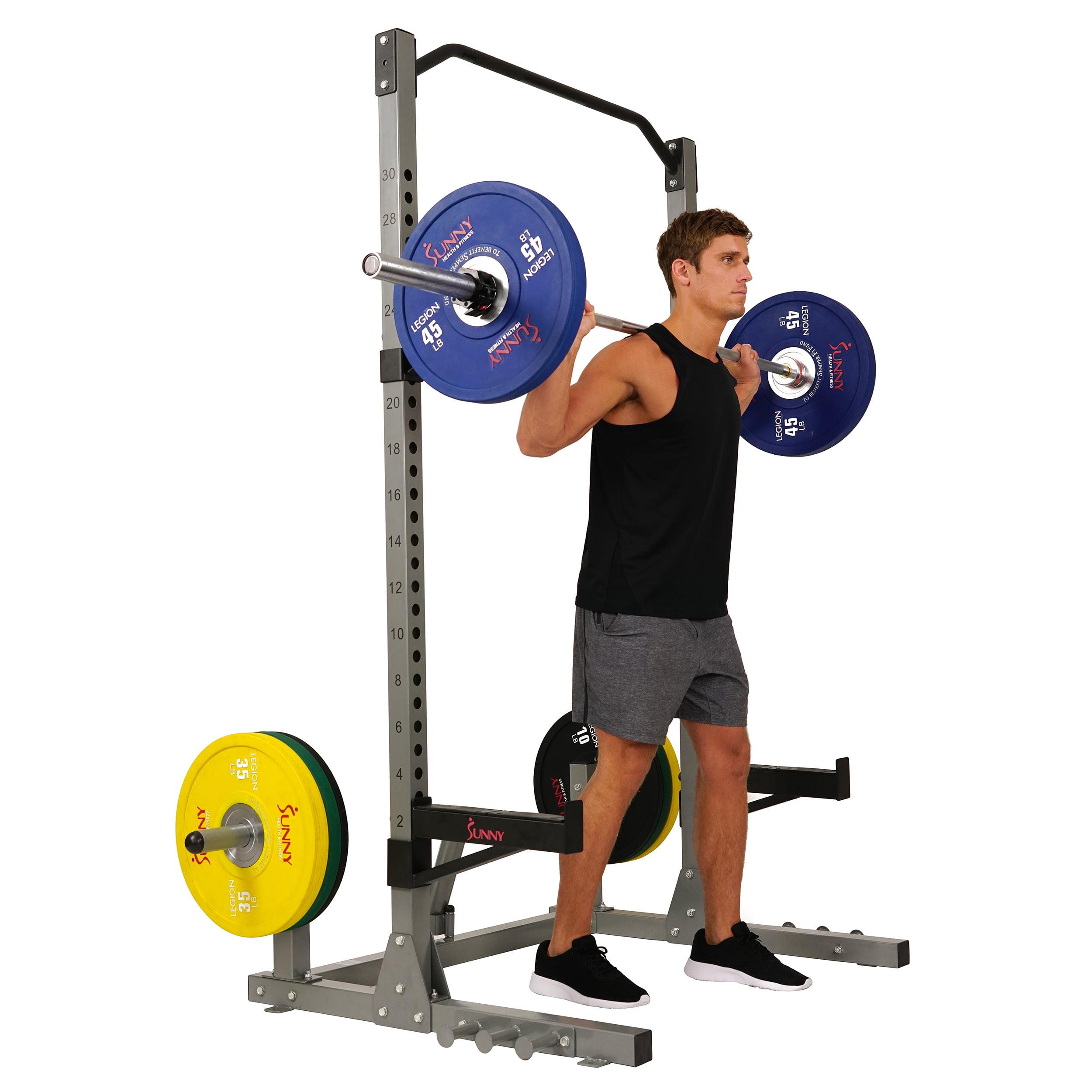 Sunny Health & Fitness High Weight Capacity Power & Squat Rack