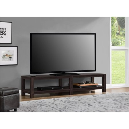 Mainstays parsons tv stand for tvs up to 65 multiple for Living room with 65 inch tv