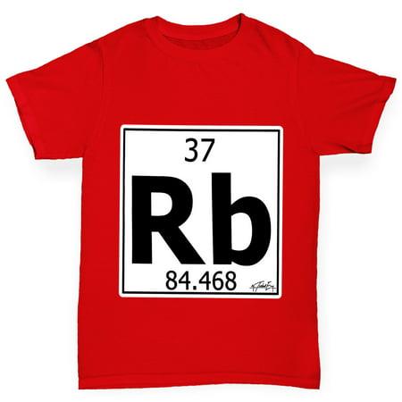 Girls T Shirt Periodic Table Element Rb Rubidium Funny T Shirts For