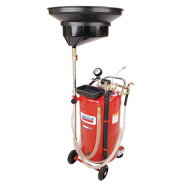 Buy Lincoln Industrial LNI-3639 Used Fluid Combo Drain And Evacuator 25-Gallon by Lincoln Industrial