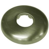 Shower Arm Flange  Vintage Brass
