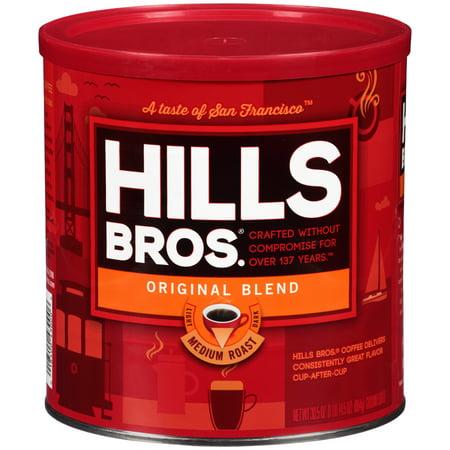 Hills Bros Original Blend Ground Coffee, Medium Roast, 30.5 -