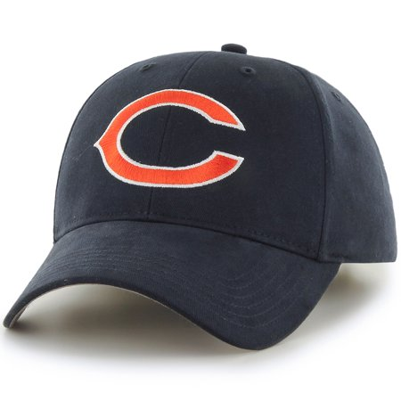 Men's Fan Favorite Navy Chicago Bears Mass Basic Adjustable Hat - OSFA
