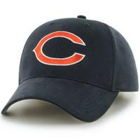 Product Image Men s Fan Favorite Navy Chicago Bears Mass Basic Adjustable  Hat - OSFA b72bdd631491