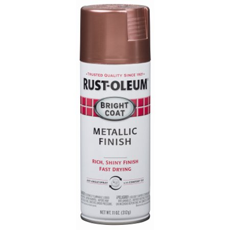 Stops Rust Bright Coat Rose Metallic Aerosol