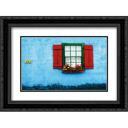 Halloween Store St Augustine (St. Augustine IV 2x Matted 24x18 Black Ornate Framed Art Print by Mabat,)