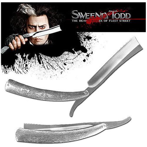 """Whetstone Huge 10.5"""" Sweeney Todd Replica Straight Razor"""