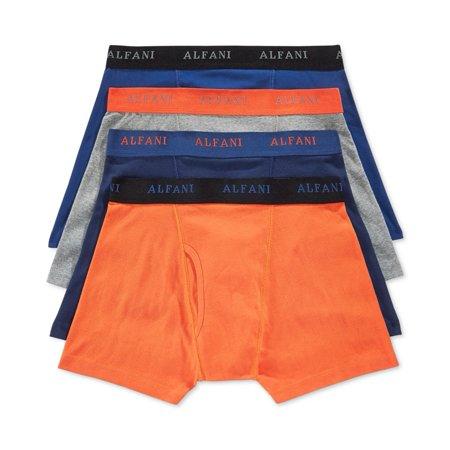 a8dc20f94538 Alfani - Alfani Mens 4-pack Underwear Boxer Briefs - Walmart.com