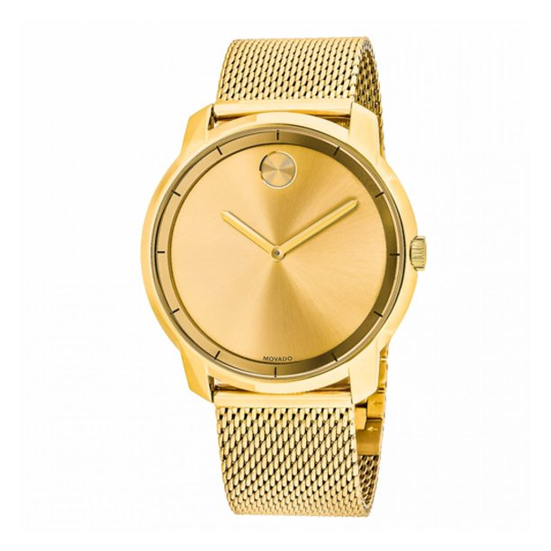 Bold Gold-tone Mens Watch 3600373