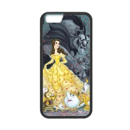 Ganma Beauty and the Beast Rubber Case For iPhone 7 (4.7
