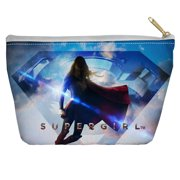 Supergirl Endless Sky Accessory Pouch White 12.5X8.5
