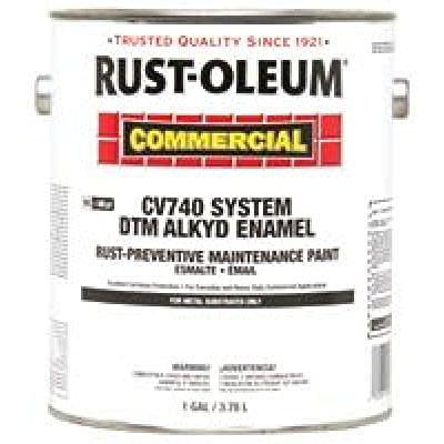 RUST-OLEUM 261957 COMMERCIAL CV740 SYSTEM<100 VOC DTM ALKYD ENAME