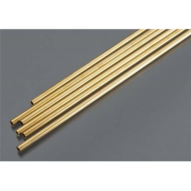 K/&S Metal Round Tube 9//32 D X 36 L Brass