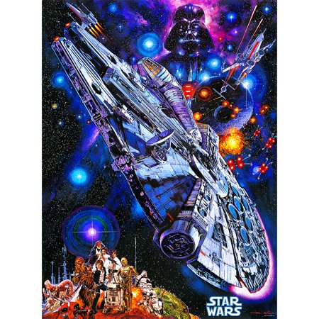Star Wars Puzzle (Buffalo Games Star Wars Vintage Art - You're All Clear, Kid: 1000)