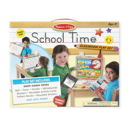 Melissa & Doug - 8514 | School Time! Classroom Play Set - image 4 of 4