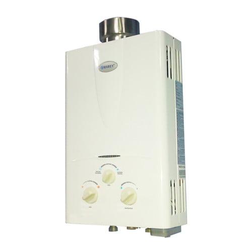 Hot Water Heater Home Shower Marey 2.7 GPM Liquid Propane Gas Tankless