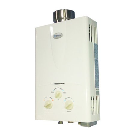 Marey 2.7 GPM Liquid Propane Gas Tankless Hot Water Heater Home Shower GA10LP