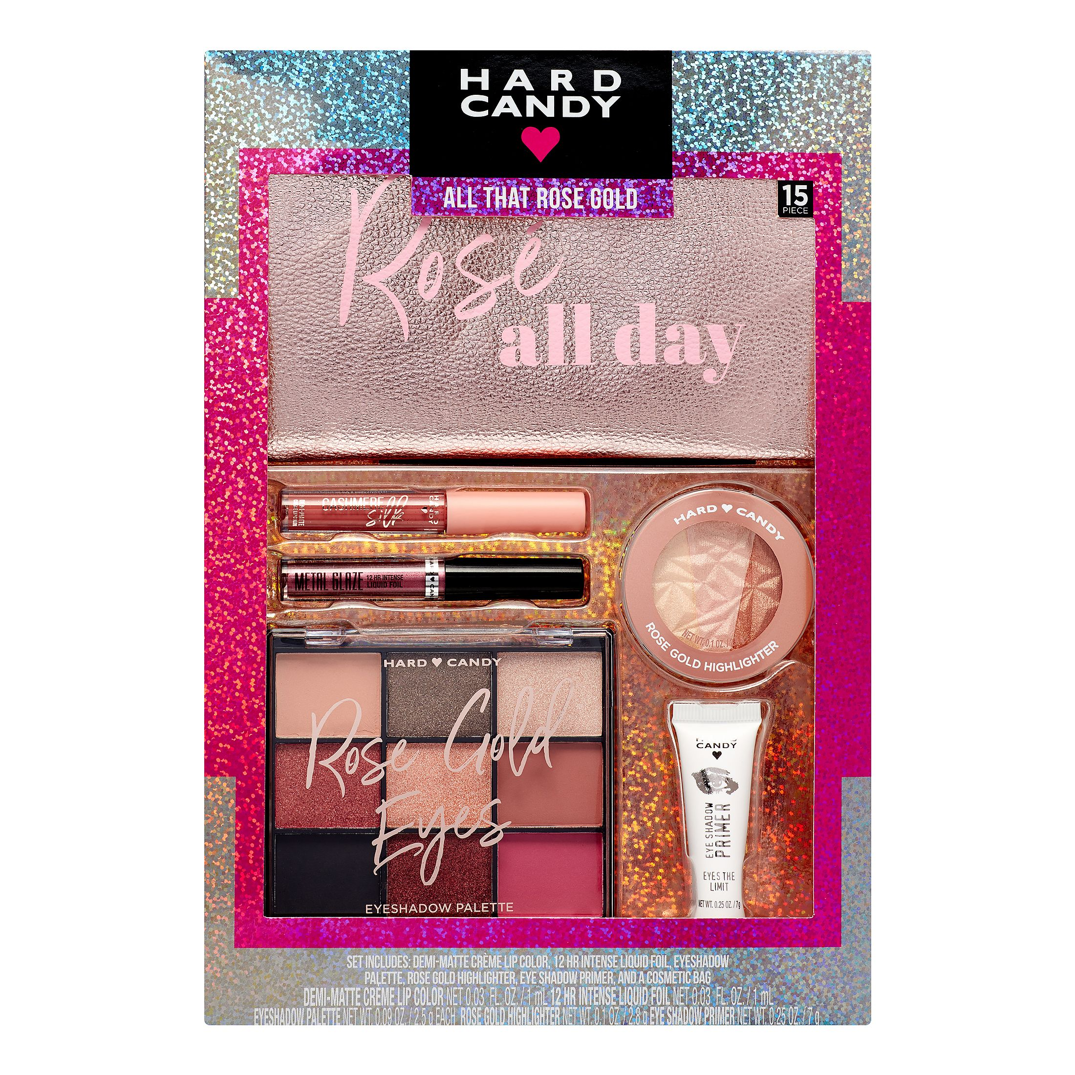 Hard Candy Holiday Makeup Gift Set, All That Rose Gold ($13 Value)