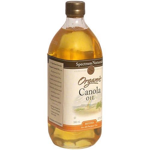 Spectrum Naturals Organic Canola Oil, 32 oz (Pack of 6)