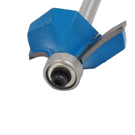 1/4-inch Shank 1-inch Cutting Dia 19mm Depth Corner Round Roundover Router Bit - image 2 de 3