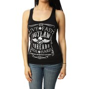 Outlaw Threadz Women's Live Fast Ride Hard Tank Top