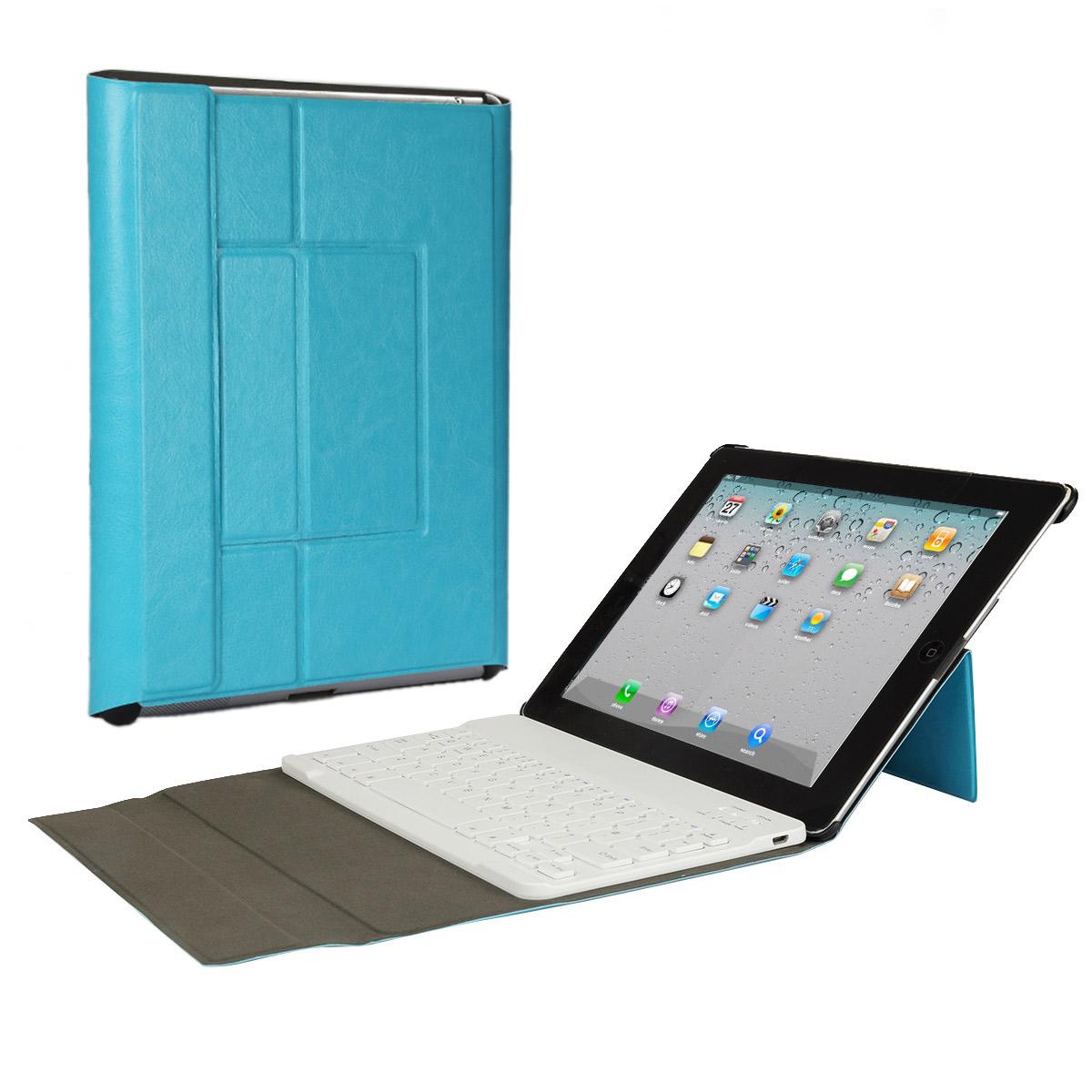 iPad 2/3/4 Bluetooth Keyboard Case, CoastaCloud Bluetooth...