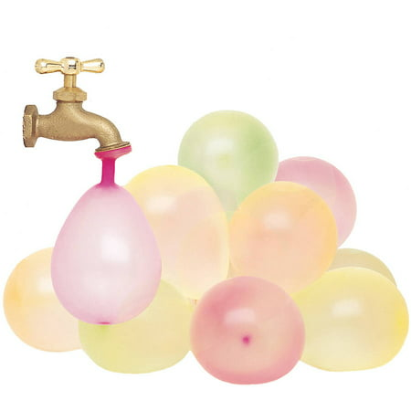 Latex Water Balloons, Neon, 50ct