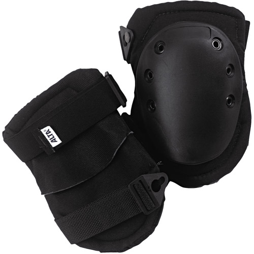 ALTA AltaLok Knee Pads, Fastener Closure, Neoprene Nylon, Rubber, Black by Alta