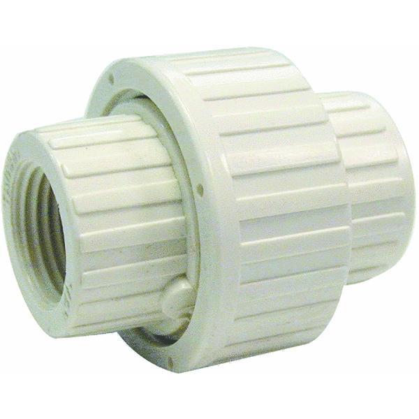 PVC White Threaded Union