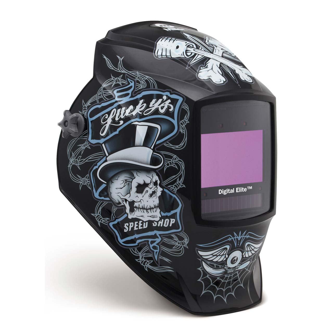 Miller 281001 Digital Elite Welding Helmet with ClearLight Lens, Lucky's Speed Shop