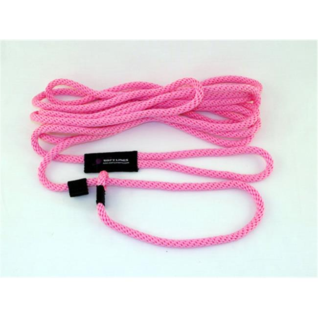 Soft Lines PSW20420HOTPINK Floating Dog Swim Slip Leashes 0.25 In. Diameter By 20 Ft. - Hot Pink