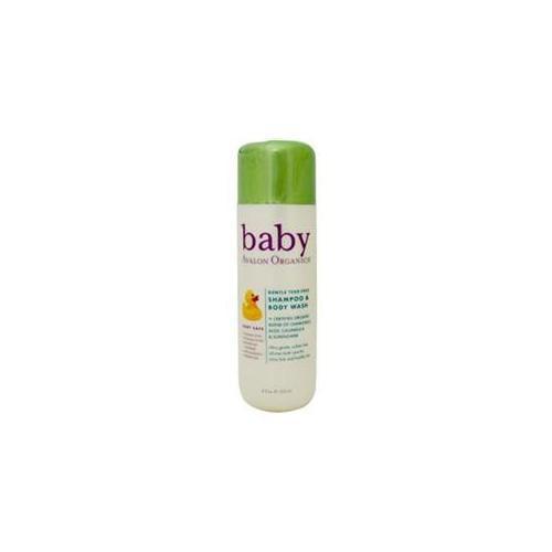 Avalon Organics Baby Gentle Tear-Free Shampoo & Body Wash 8 fl.  oz.  218754